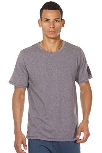 MUSTANG DETROIT T-Shirt Rundhals regular fit Grau Melange