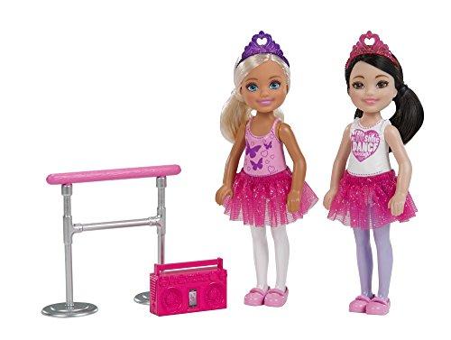 Barbie- Kuu Harajuku Love Owl Doll 2 Chelsea Ballerine,con Sbarra da Danza Classica e Radio, Multicolore, FHK98