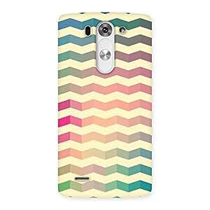 Seamless ZigZag Multicolor Back Case Cover for LG G3 Mini