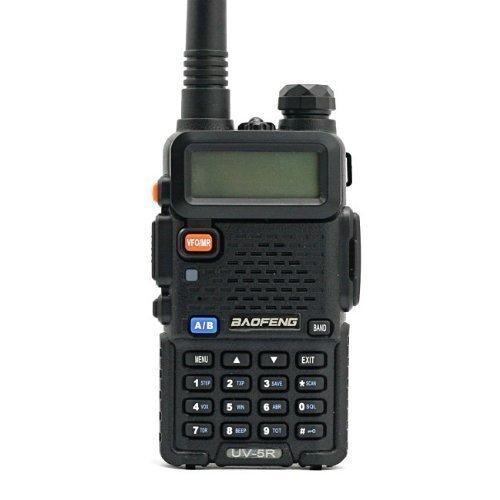 Baofeng UV-5R 136-174/400-480 MHz Dual -Band DTMF CTCSS DCS FM Ham radio bidirezionale - B-52 Altoparlanti