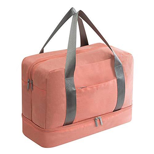CNRGHS Faltbarer Spielraum-Schulter-Beutel-Gepäck-Beutel, Nass- Und Trockenabscheidung Tasche Fitness-Tasche, Schwimmen Kleidung Aufbewahrungstasche, Outdoor-Freizeit Mobilsporttasche -