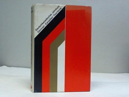 Deutschkanadisches Jahrbuch, Band V