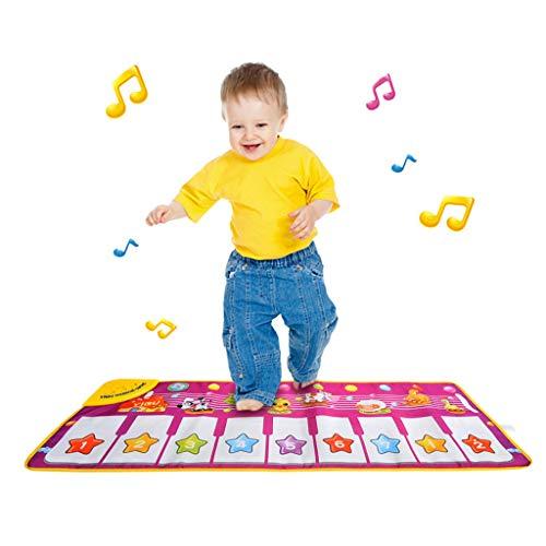 Mitlfuny Kawaii Langsam Dekompression Creme Duftenden Groß Squishy Spielzeug Squeeze Spielzeug,Klaviermatte, musikalische Klaviertastatur Tanzmatte Teppich Baby Play Animal Blanke (Für Lift-kits Tundra)