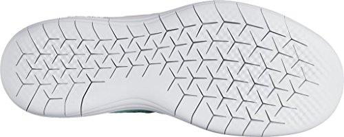 Nike Women's Free Rn Distance 2 Running, Scarpe Sportive Indoor Donna Hyper Turq/White-green Glow-lava Glow