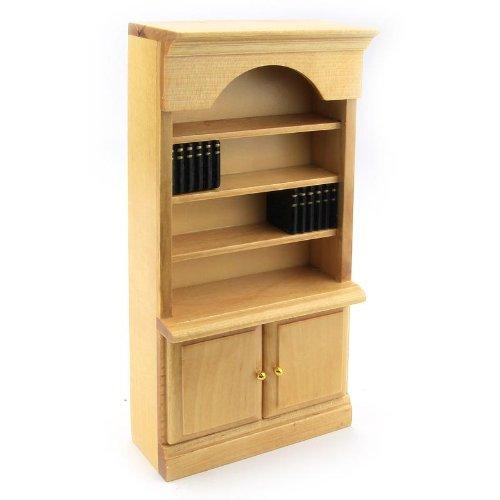MyTinyWorld Dolls house Miniature Pine Bookcase