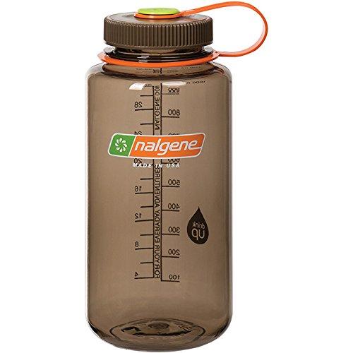 Nalgene Klassiker WH Trinkflasche, Woodsman braun, 1 Liter