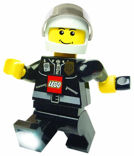Lego Torch Policeman Wind-up Dynamo