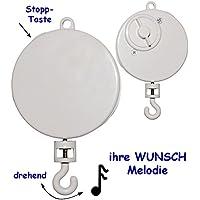 alles-meine.de GmbH Spieluhr / Spielwerk - Ihr Wunsch - Wiegenlied - Lullaby - z.B. Mobile & T.. preisvergleich bei kleinkindspielzeugpreise.eu