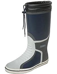 Gul Men's Deck Full Length Boot-Navy/Charcoal, Size 10