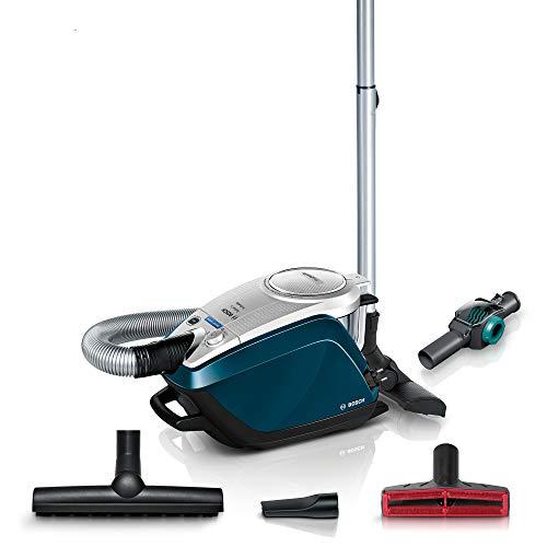 Bosch Bodenstaubsauger ohne Beutel, BGS5FMLY, leise 69 dB (A), inkl. Hartbodendüse, Spielzeugfalle, deep Petrol