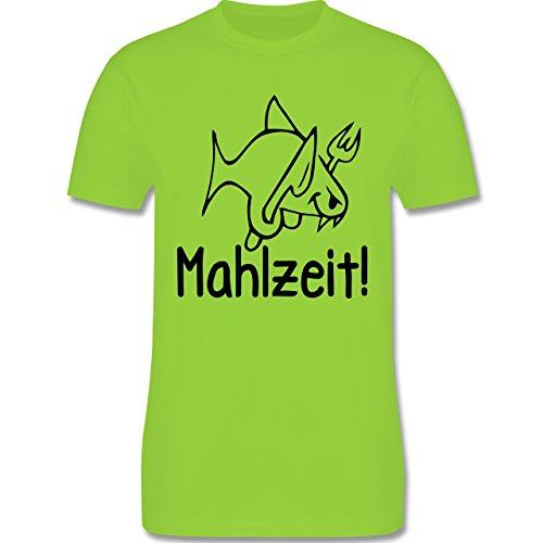 Küche - Mahlzeit - Herren Premium T-Shirt Hellgrün