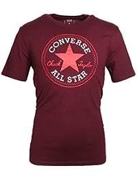 Converse Homme Noyau Chuck Taylor Patch T-Shirt, Blanc