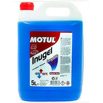 MOTUL Inugel Long Life 30% Orgánico Azul 5L