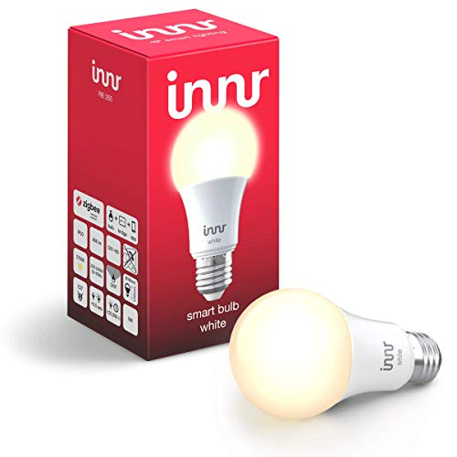 Innr Smart LED Bulb E27 White, Works with Philips Hue* / Alexa / Google Assistant (Hub Required) (RB 265)