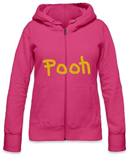 Winnie The Pooh Womens Zipper Hoodie Medium