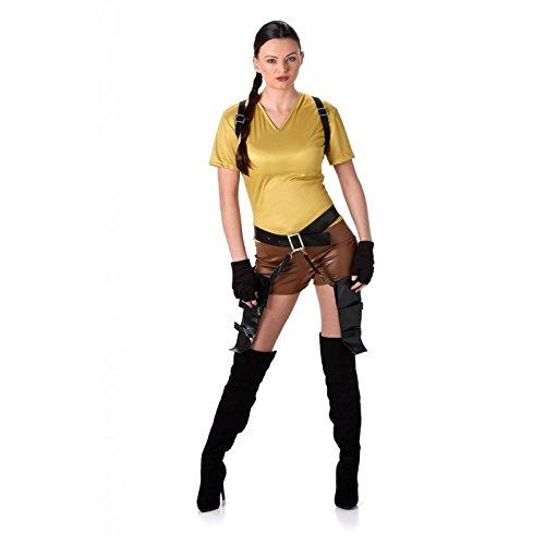 Karnival Costumes  - Lara Croft Tomb Raider Kostüm für Damen Größe M