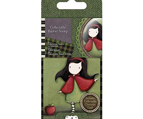 Gorjusska Like Little Red Riding Hood - Gummistempel Gorjuss Mini (1ks), Docraft, Briefmarken, Scrapbooking-Papier -