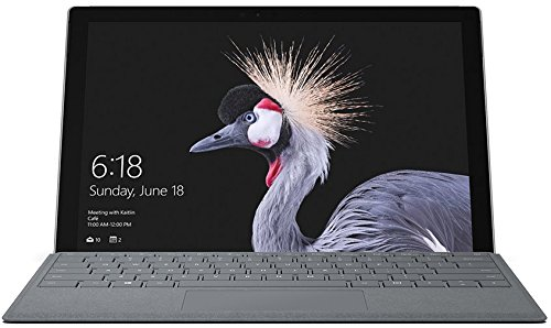 Microsoft Surface Pro (Core-i5 7th Gen/4GB/128GB/Windows 10 Pro/Integrated Graphics), Silver image