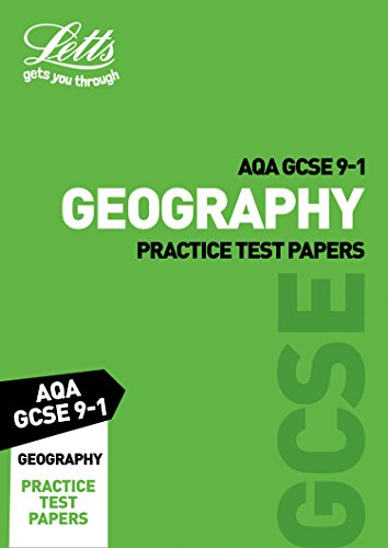 AQA GCSE 9-1 Geography Practice Test Papers (Letts GCSE 9-1 Revision Success) por Letts GCSE