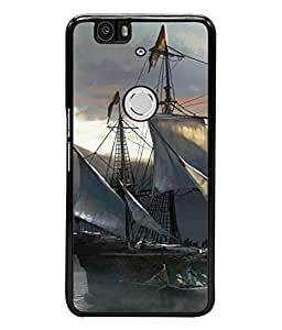 Fuson Designer Back Case Cover for Huawei Nexus 6P :: Huawei Google Nexus 6P (Artistic work beautiful floral painting)