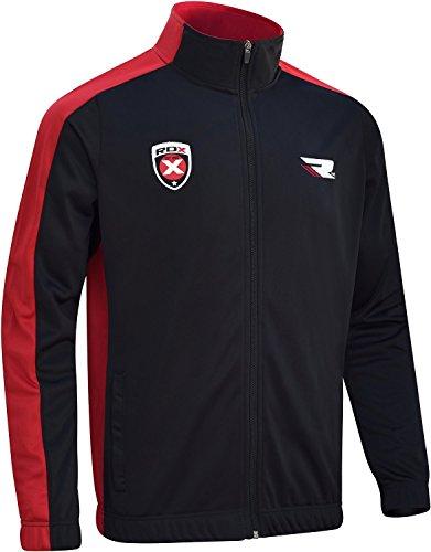 RDX Sweatjacke Pullover Sweatshirt Jacke Fitnessjacke Trainingsjacke Laufanzug Jumper (MEHRWEG)
