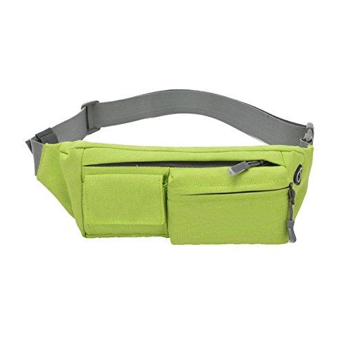 Multi-funzionali Tasche Outdoor Fitness Sport Multi-color,Black-28*11*6cm Green
