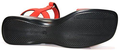 La petite muck 48405 les chaussures pour enfants, sandales pour fille Rouge - Rouge