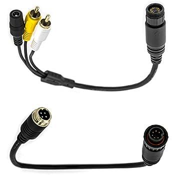 Adapter System für Waeco Rückfahrkamera Rückfahrsystem
