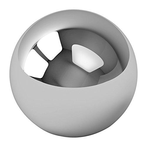 20 en acier chromé Premium Bling Finition miroir Pinballs