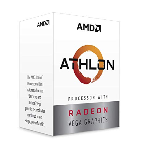 Processore AMD Athlon 220 GE Dual Core CPU Radeon Vega 3 AM4/