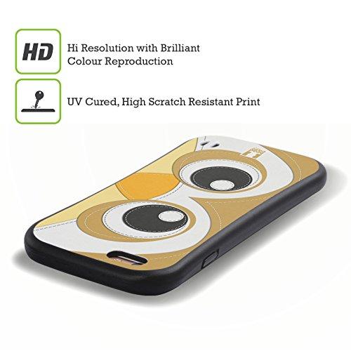 Head Case Designs Koala Animaux - Tache Serie 1 Étui Coque Hybride pour Apple iPhone 5 / 5s / SE Hibou