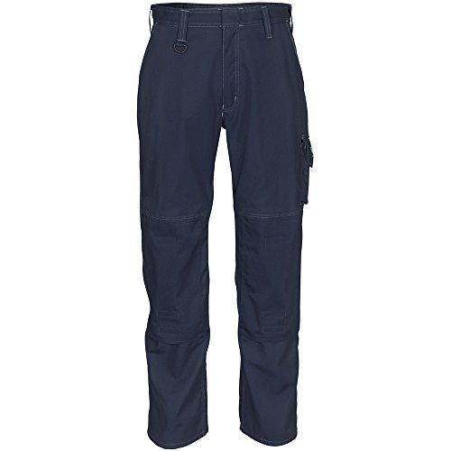 MASCOT INDUSTRY Bundhose Arbeitshose Biloxi mit vielen Taschen schwarz-blau