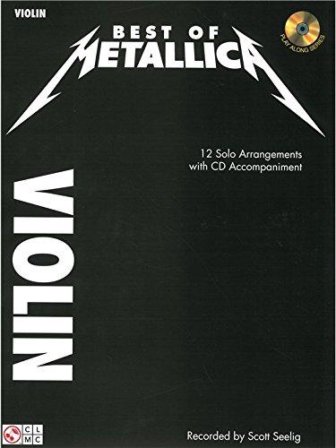 Metallica: Best Of - Violin. Partitions, CD pour Violon