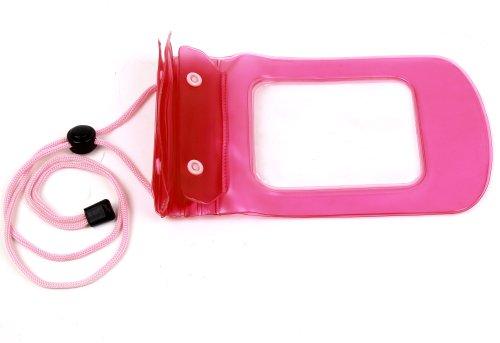 Für Apple iPhone 8 | 8 Plus | X Smartphone: Wasserdichte Gürteltasche Hüfttasche Transport-Case in Schwarz Umhängetasche - Pink