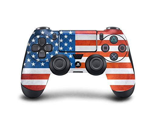 PS4 Dualshock 4 Controller Skin Custom Console Pro Modded Chip (PS4-amerikanische Flagge) - Bundle, Call Duty Ps4 Of Konsole