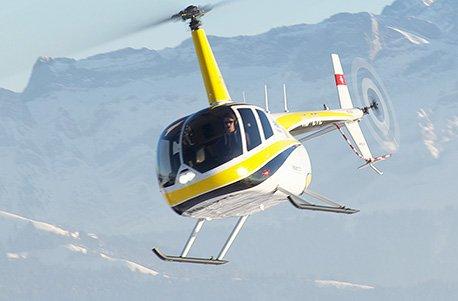Jochen Schweizer Geschenkgutschein: Helikopter Rundflug Schweiz für 4 (30 Min.)