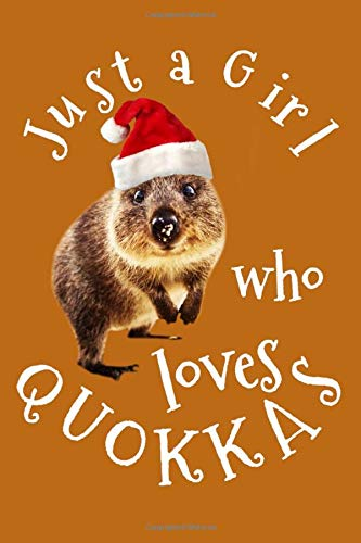 Just a Girl Who Loves Quokkas: Notebooks for kids and adults, Composition Notebook, Lined Paper Book, Blank lined pages journal to jot down your ... and Sketching diary, 6x9 inch, 120 Pages