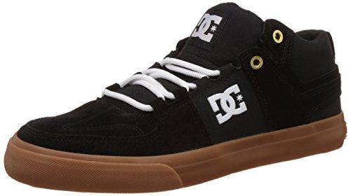 DC Universe Lynx Vulc Mid M Shoe Herren High-Top Black/White/Gum