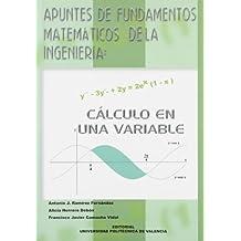 Apuntes de Fundamentos Matemáticos de La Ingeniería: Cálculo En Una Variable (Académica)