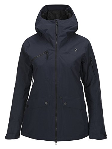 Peak Performance W Hakuba Jacket Salute Blue - L