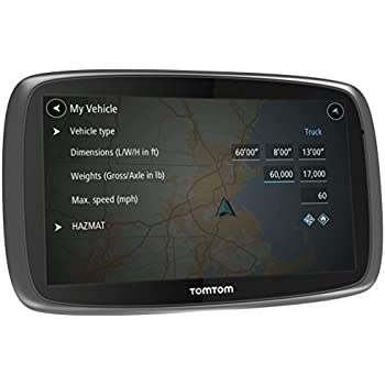tomtom trucker 6000 lkw navigationsger t 6 zoll. Black Bedroom Furniture Sets. Home Design Ideas