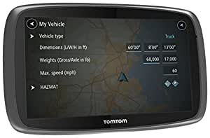 TomTom Trucker 6000 GPS per Camion, Nero/Antracite