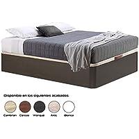 HIPERSTOCKS CANAPE ABATIBLE WENGUE Canto Redondo (135 X 190) - Muebles de Dormitorio precios