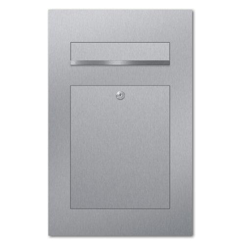 ZED Unterputz Briefkasten aus Edelstahl thumbnail