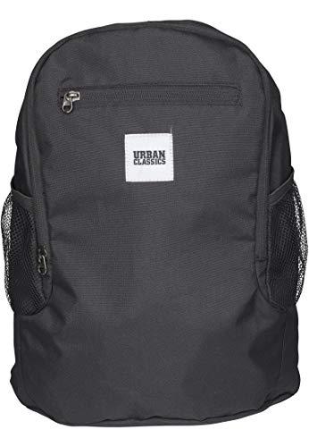 Urban Classics Foldable Backpack Zaino Casual, 37 cm, 14 liters, Nero (Black)