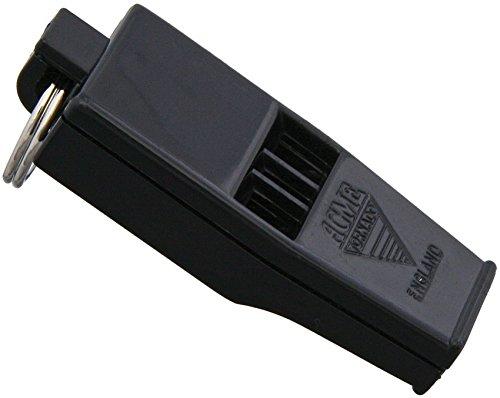 ACME Slimline Tornado Model 636 Pealess Whistle Black