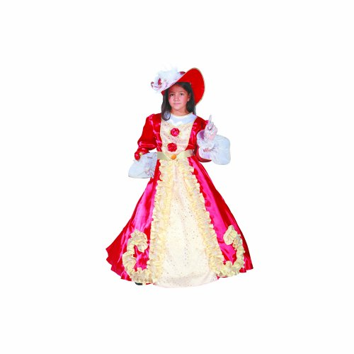 Dress Up America bezaubernd Edle Dame - Alte Frau Kostüm Für Kleinkind