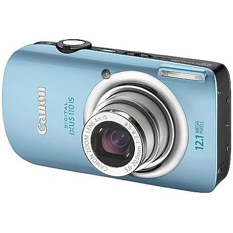 Canon Digital Ixus 110 Is - Fotocamera Digitale - Compatta - 12.1 Mpix - Zoom Ottico: 4 X - Memoria Supportata: Mmc, Sd, Scheda Di Memoria Sdhc, Mmcplus - Blu