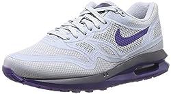 Nike Wmns Nike Air Max Lunar 1 Wr Womens Trainers Wmns Nike Air Max Lunar 1 Wr Wolf Greycourt Purple-cv Prpl 5 Uk, 38.5 Eu