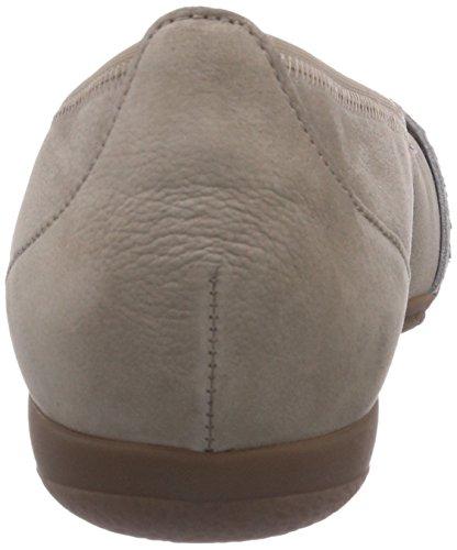 Gabor Shoes - Gabor, Ballerine da donna Brown (Taupe Nubuck Lavato/Beige Cobra)